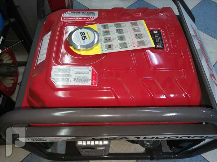 مولد كهرباء بنزين 10 كيلو صافي 7 كيلو نص يشغل مكيف 18 اسبلت واللمبات واجهزه 7 كيلو نص