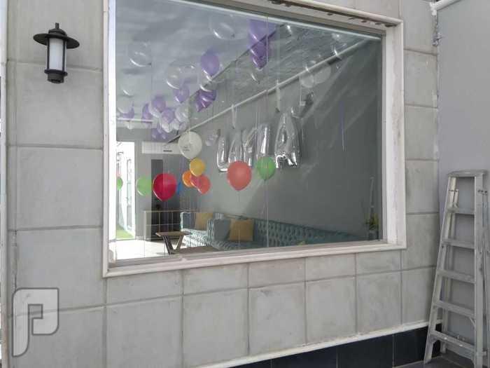 ديكور بالون،تزيين بالونات،حفلات بالون،شاليهات ،استراحات، حفلات