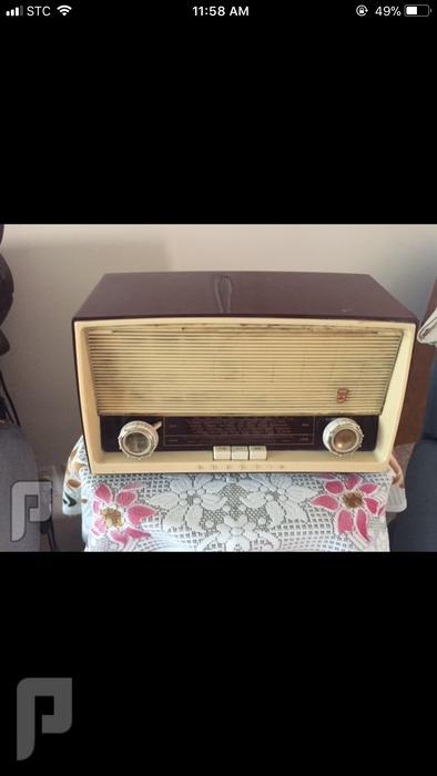 » للبيع راديو الماني اصلي قديم لمبات قديم