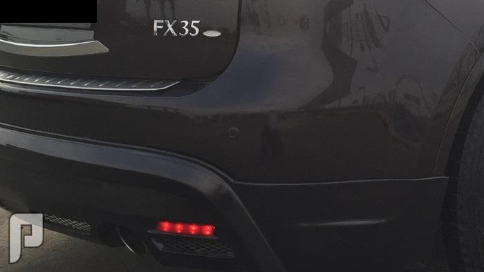 إنفينيتي FX35 بإضافات خاصة ولوحه رقم فردي ماشاء الله .. بارك الرحمن .. اللهم صل ع النبي