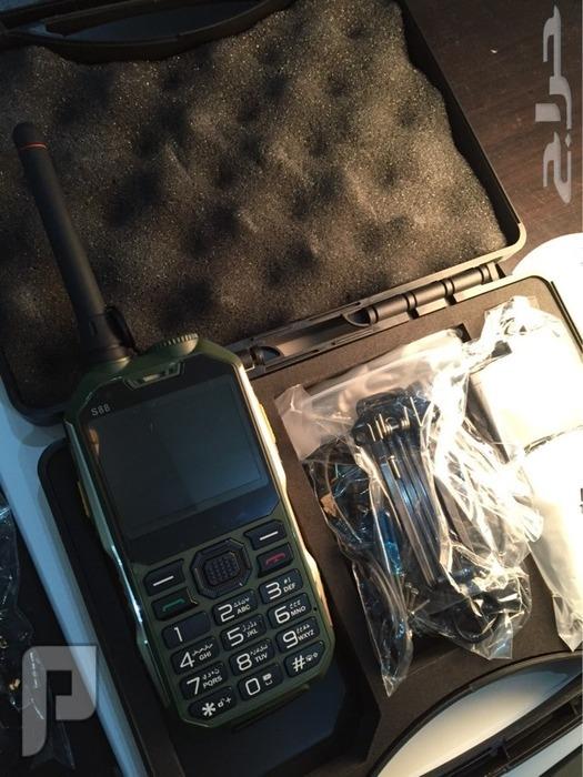 جوال البر هوبي S88 وجهاز لاسلكي فخم وقوي وعملي