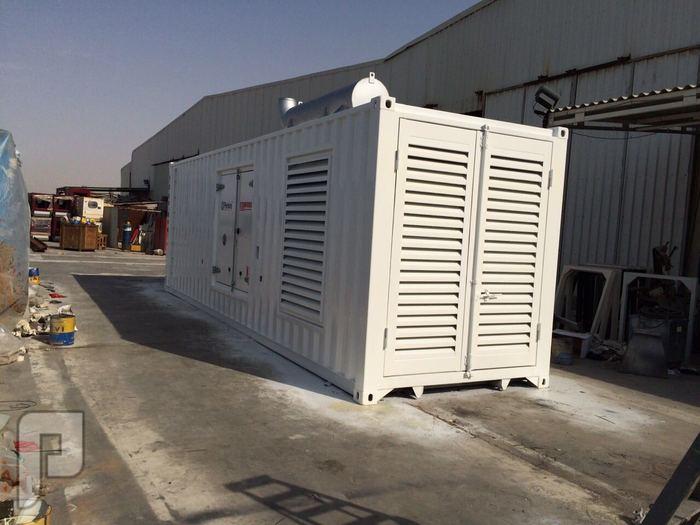 مولدات كهرباء احتياطية  standby generator