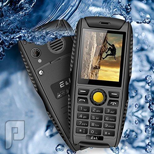 جوال الغوص والرحلات والمقناص ضد الماء والصدمات ببطارية قوية ومواصفات جبارة