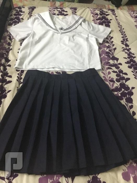 زي المدرسة الياباني جديد للبيع زي الطالبة اليابانية مقاس2xlجديد