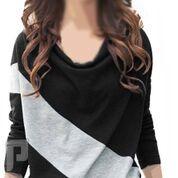 مجموعه متميزة من الملابس النسائية الاعلان الثانى 19- بلوزة نسائية مصنوعة من القطن مقاس إسمول ذات لون أسود