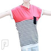مجموعه متميزة من الملابس النسائية الاعلان الثالث 1- بلوزة - تيشرت - نسائي مصنوعة من القطن والمقاس واحد