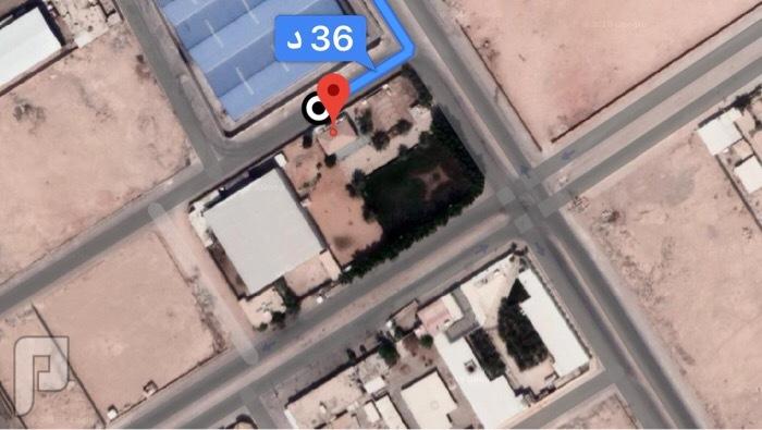 أرض مستودعات في الرياض الغنامية الغربية