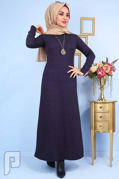ملابس تركية جودة عالية التسليم من 20: 25 يوم السعر 160 ريال T4-1 فستان تركي انيق جودة عالية المقاسات 38-40-42-44-46-48 السعر 160 ريال