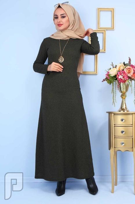 ملابس تركية جودة عالية التسليم من 20: 25 يوم السعر 160 ريال T4-2 فستان تركي انيق جودة عالية المقاسات 38-40-42-44-46-48 السعر 110 ريال