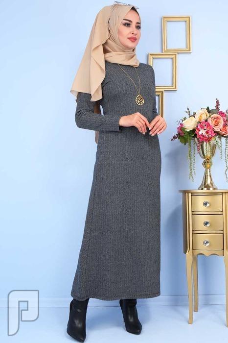 ملابس تركية جودة عالية التسليم من 20: 25 يوم السعر 160 ريال T4-3 فستان تركي انيق جودة عالية المقاسات 38-40-42-44-46-48 السعر 110 ريال