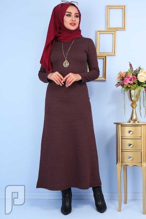 ملابس تركية جودة عالية التسليم من 20: 25 يوم السعر 160 ريال T4-4 فستان تركي انيق جودة عالية المقاسات 38-40-42-44-46-48 السعر 110 ريال
