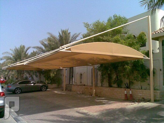 مظلات سيارات مظله سياره مظلات مصنع الاقطاب الذهبية للجميع المظلات مظلات الهالات للسيارات