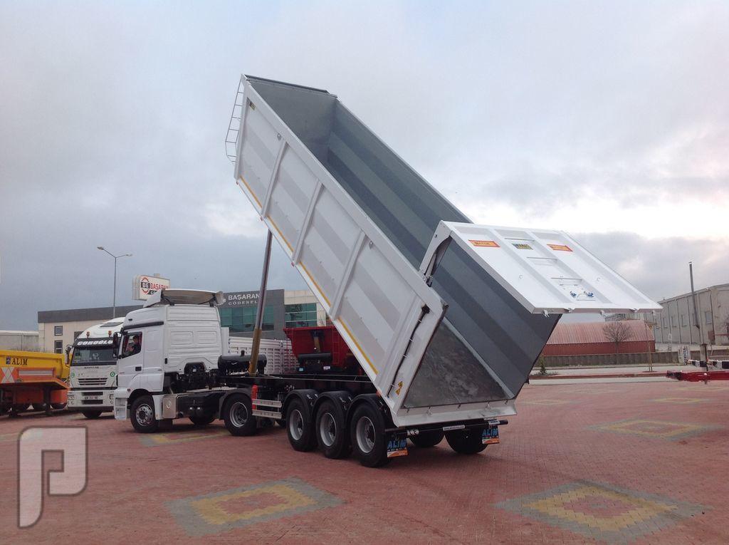 العربات نصف المقطورة شاحنة قلابة، Scrap Tipper