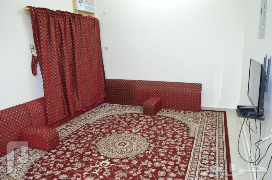 شقق وغرف مفروشه للايجار اليومي والشهري بالنعيريه العزيزيه
