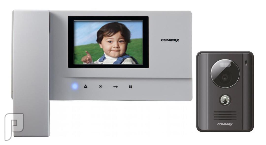 جهاز انتركم Commax للتحدث مع الزائر