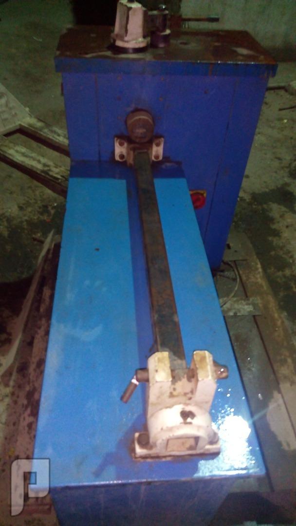 ماكينه لف وطعج الحديد