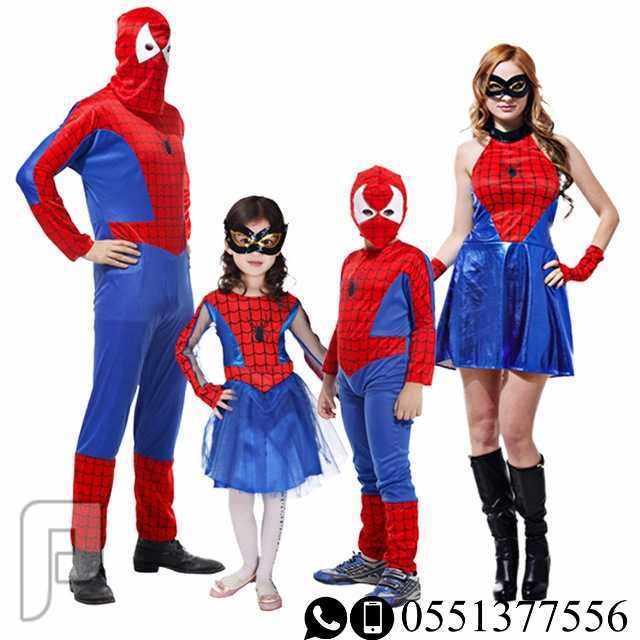 لبس اطفال سبايدر مان ، زي اطفال البطل الخارق بات مان