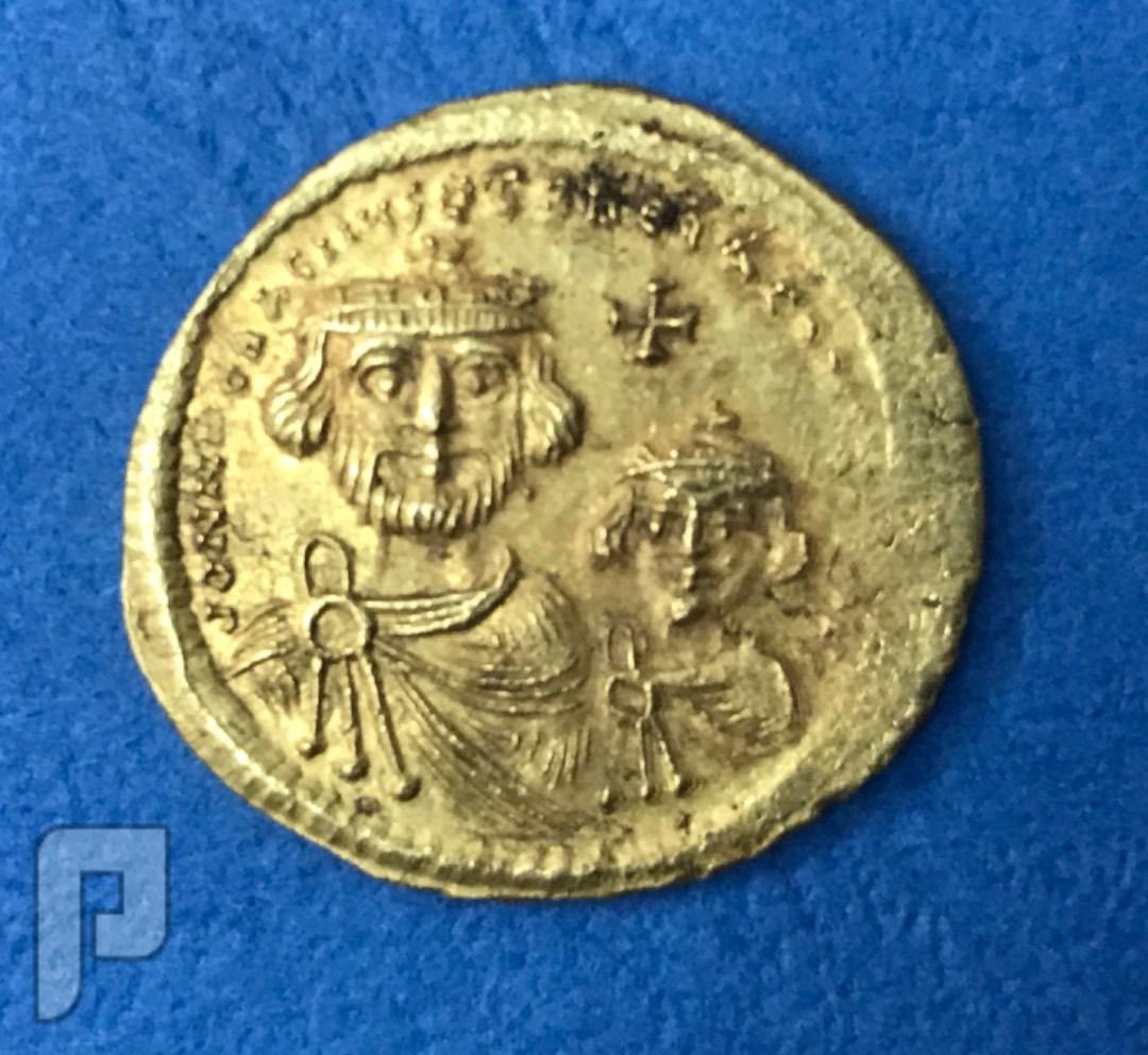 دنانير بيزنطي ذهب اصليه على الشرط البند1