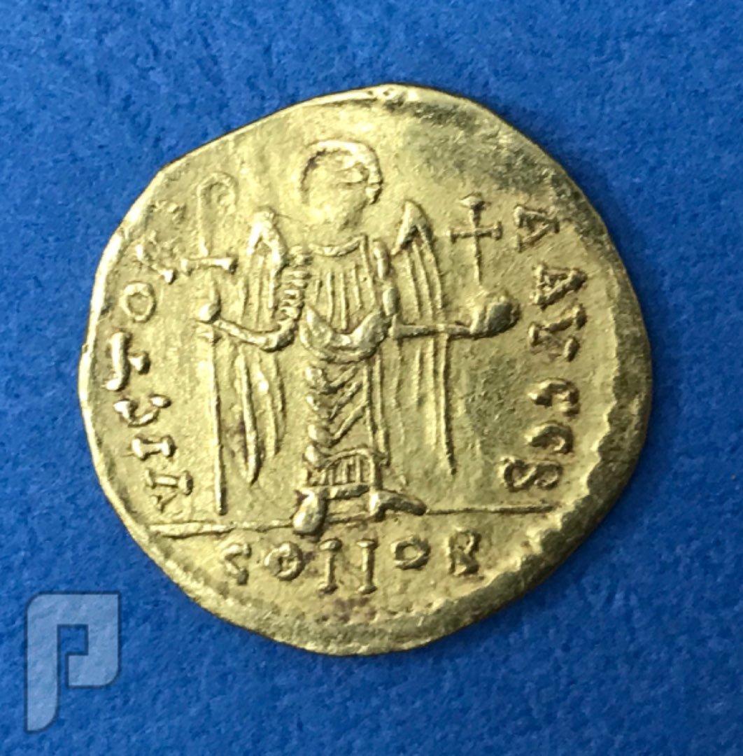 دنانير بيزنطي ذهب اصليه على الشرط البند2