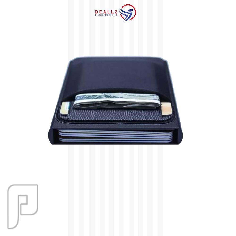 محفظة الكروت والنقود الورقة والمعدنيه المطورة