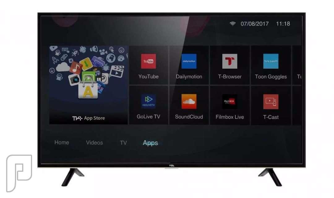 تليفزيون تي سي ال 4K سمارت إل إى دى 55 بوصة Ultra HD