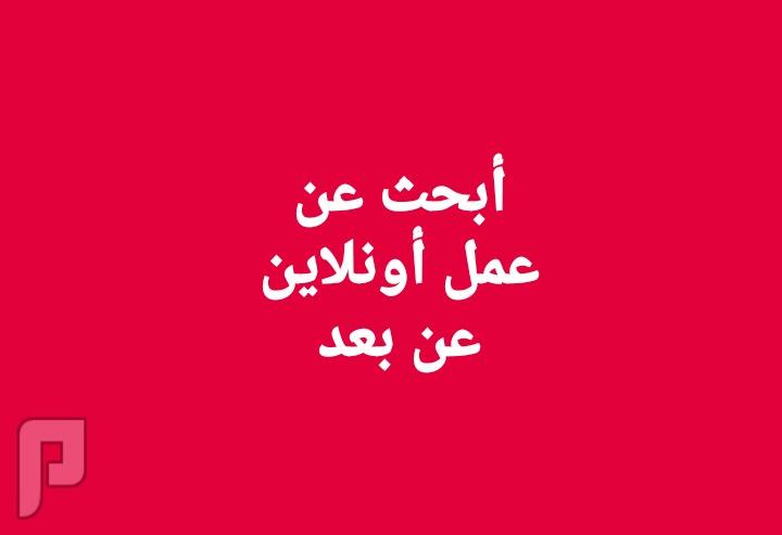 أبحث عن عمل أونلاين عن بعد فى الكويت
