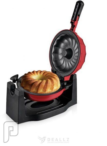 عرض ماكينة صنع الكيك وماكينة صنع الوافل الامريكية