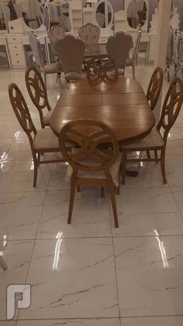 📍اقوى العروض 📍 طاوله طعام 6 كراسي جديده بالكرتون خشب   *صناعةماليزي خامه