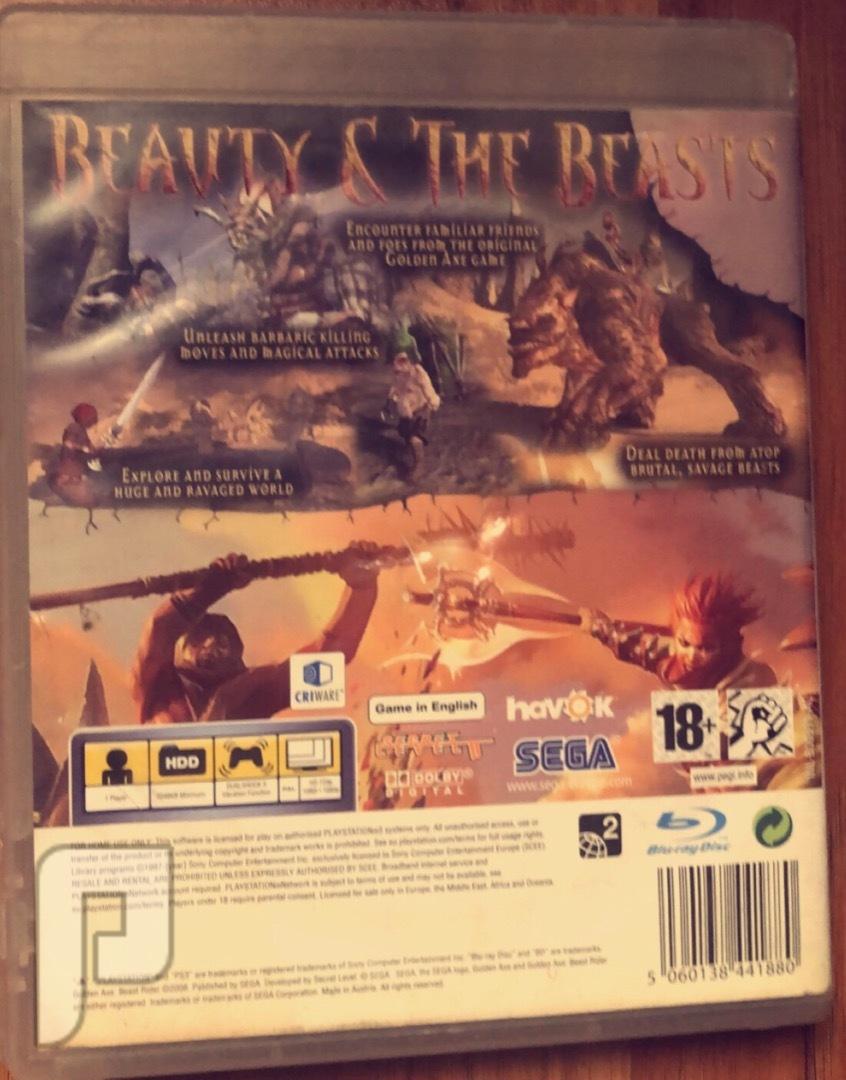 لعبة    Golden Axe: Beast Rider (PS3)
