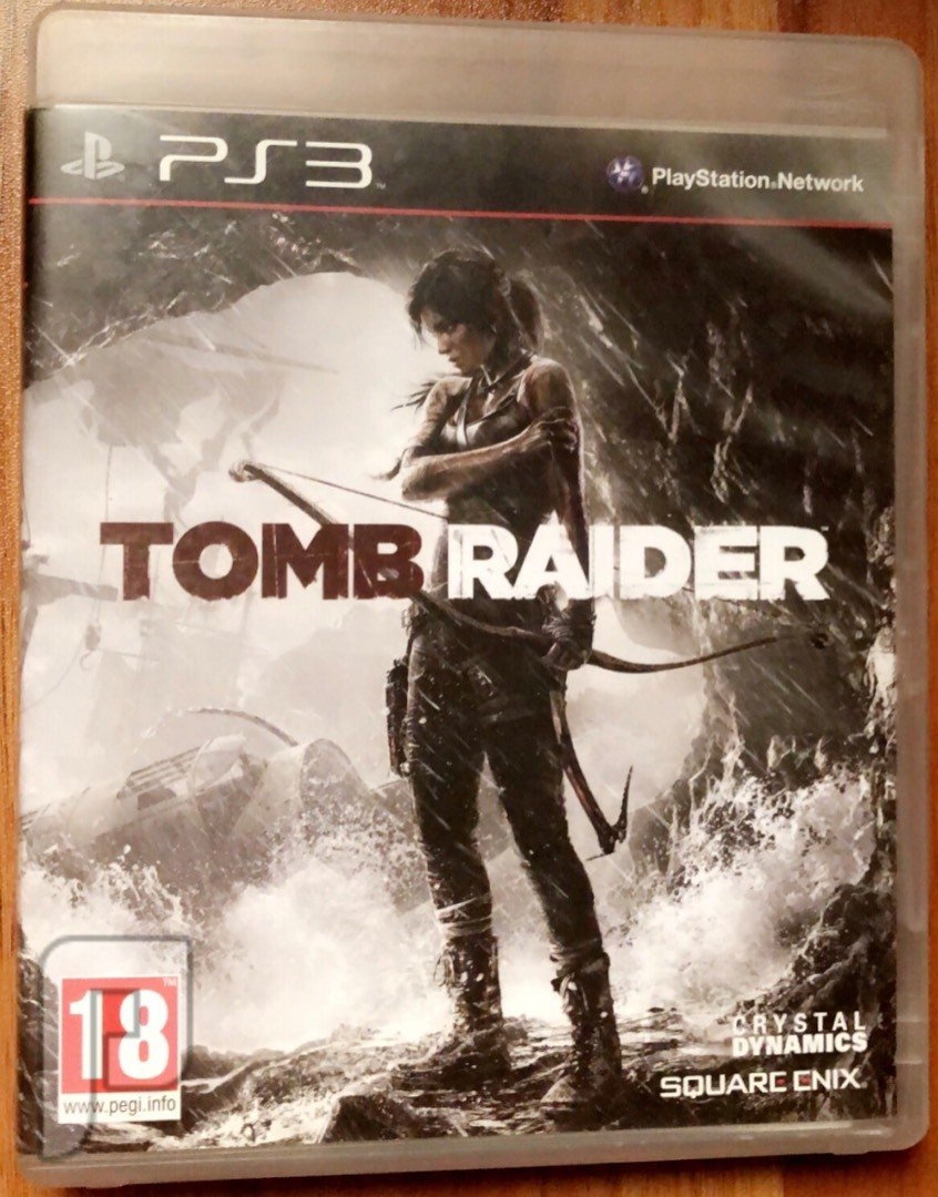 لعبة tomb raider.  Ps3