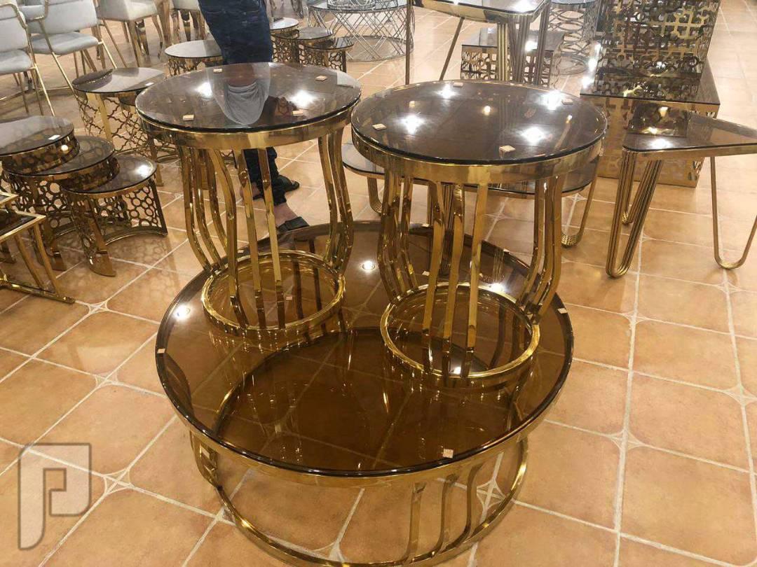 💥تخفيضات 💥طقم طاولات 3 قطع جديدة بالكرتون