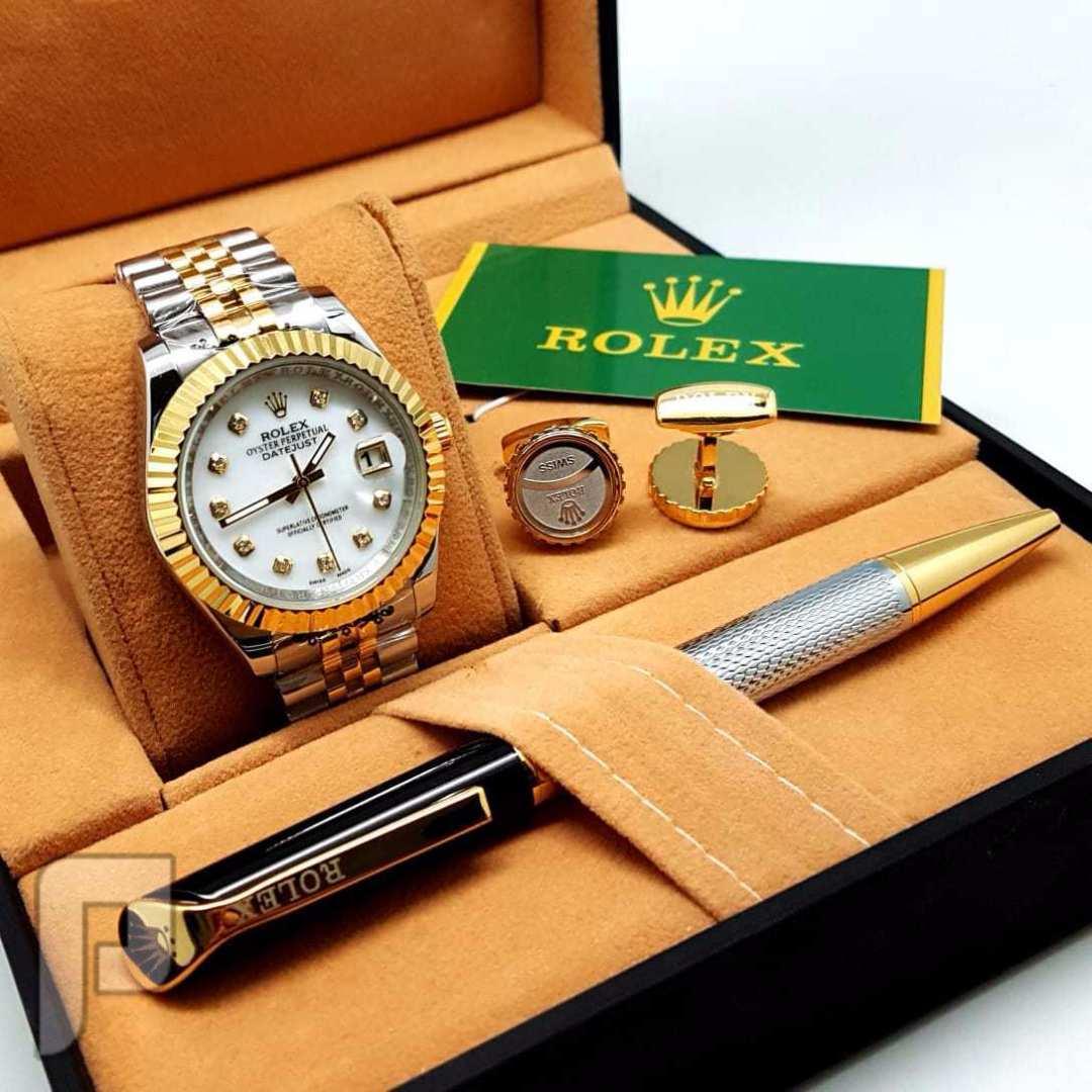 ساعة رولكس اصليه درجة اولى غير مقلده بسعر مميز
