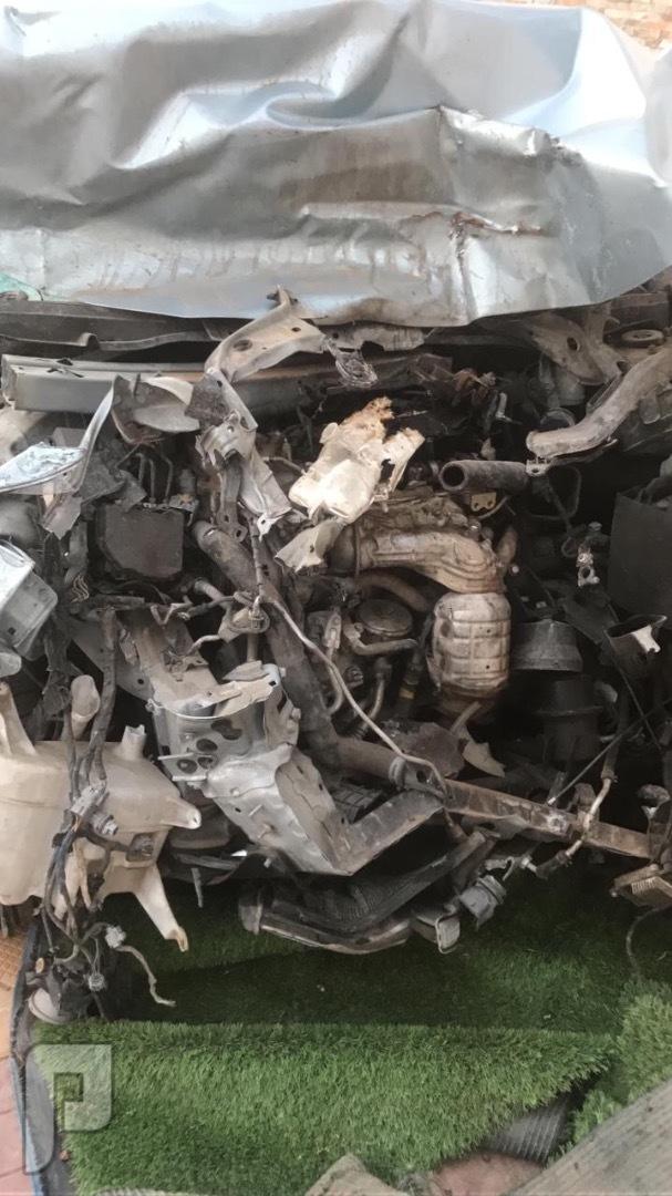 تشليح بن راشد لكزس Es350 م2014 قطع غيارفقط