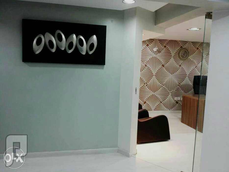 مكتب مجهز شامل الخدمات للتاجير شمال الرياض