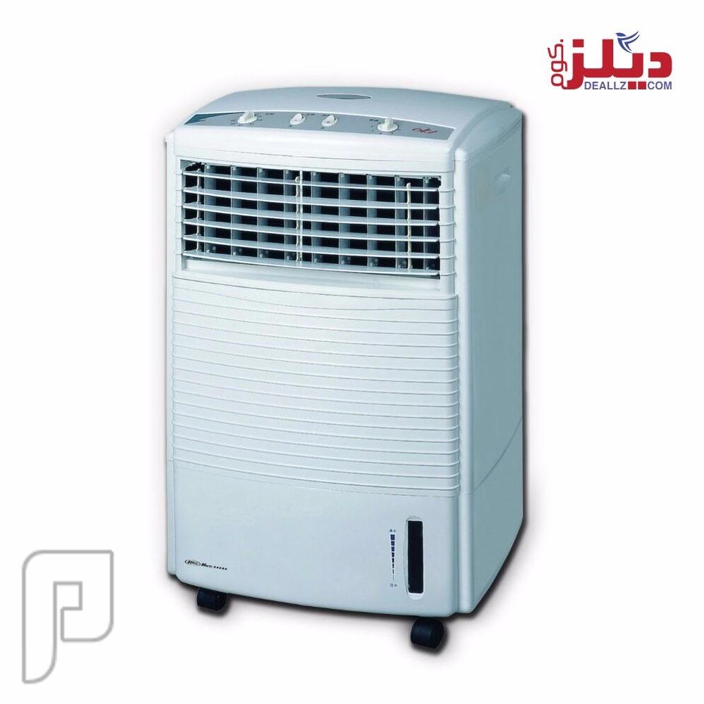 مبرد هواء متنقل مزود بريموت