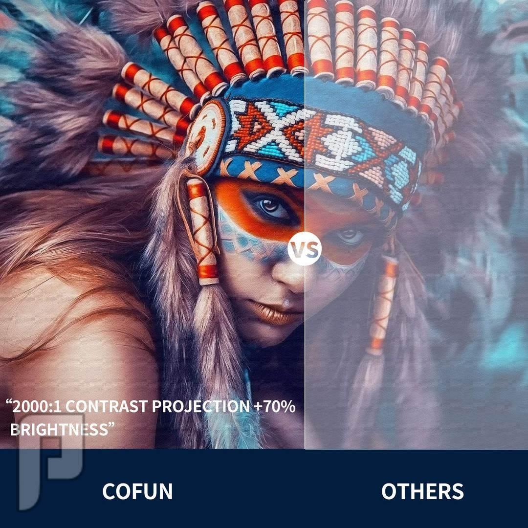 بروجكتر فل اتش دي عالي الموصفات 3600 لومين الجديد موديل 2019