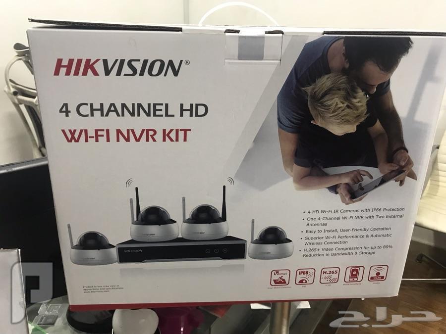 كاميرات مراقبة هايكفيجن لاسلكية واي فاي