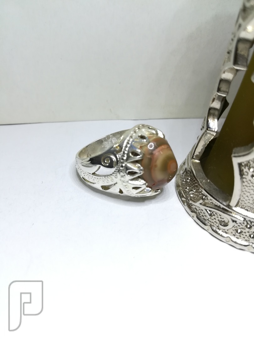خاتم سليماني قديم يماني طبيعي