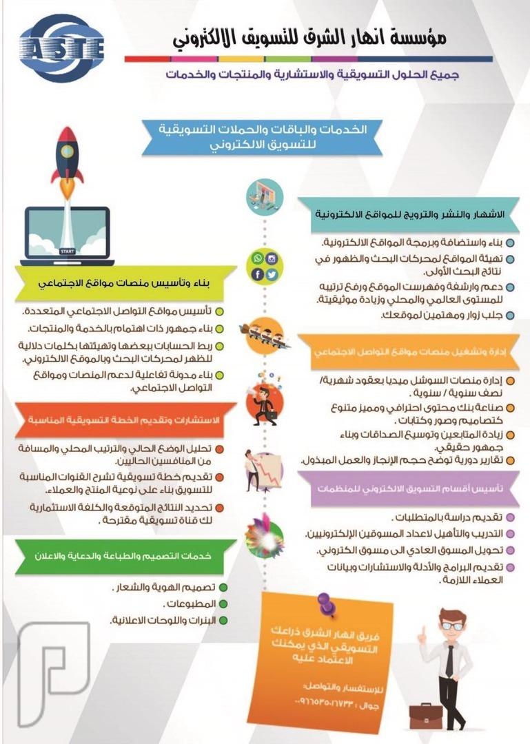 ادارة وتشغيل وتسويق حسابات التواصل الاجتماعي