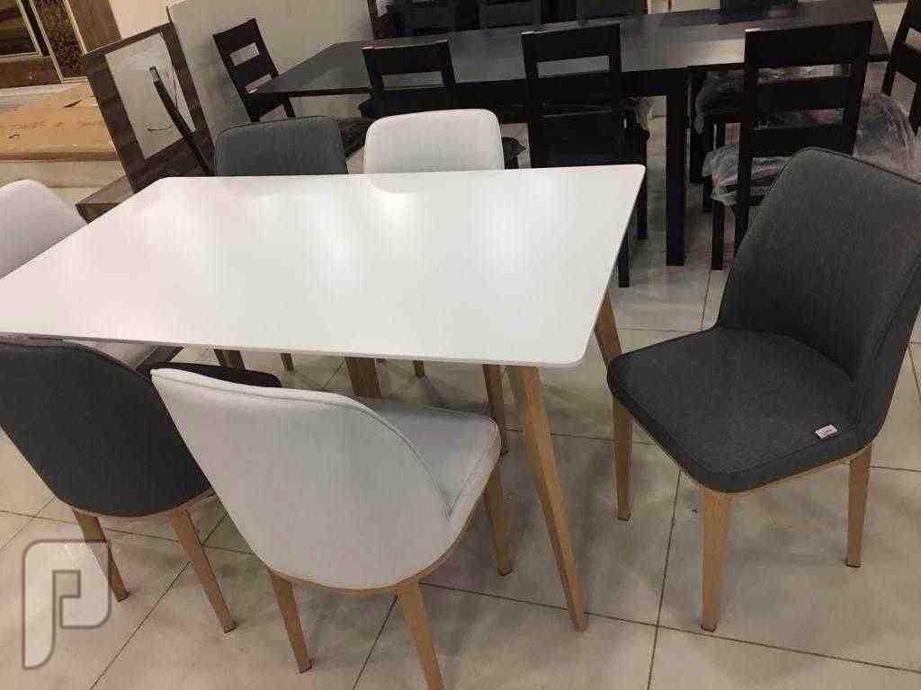 🍽 طاولة طعام رخام    الشكل الجديد جديده🍽 بالكرتون   خامه ممتازة وجوده عال