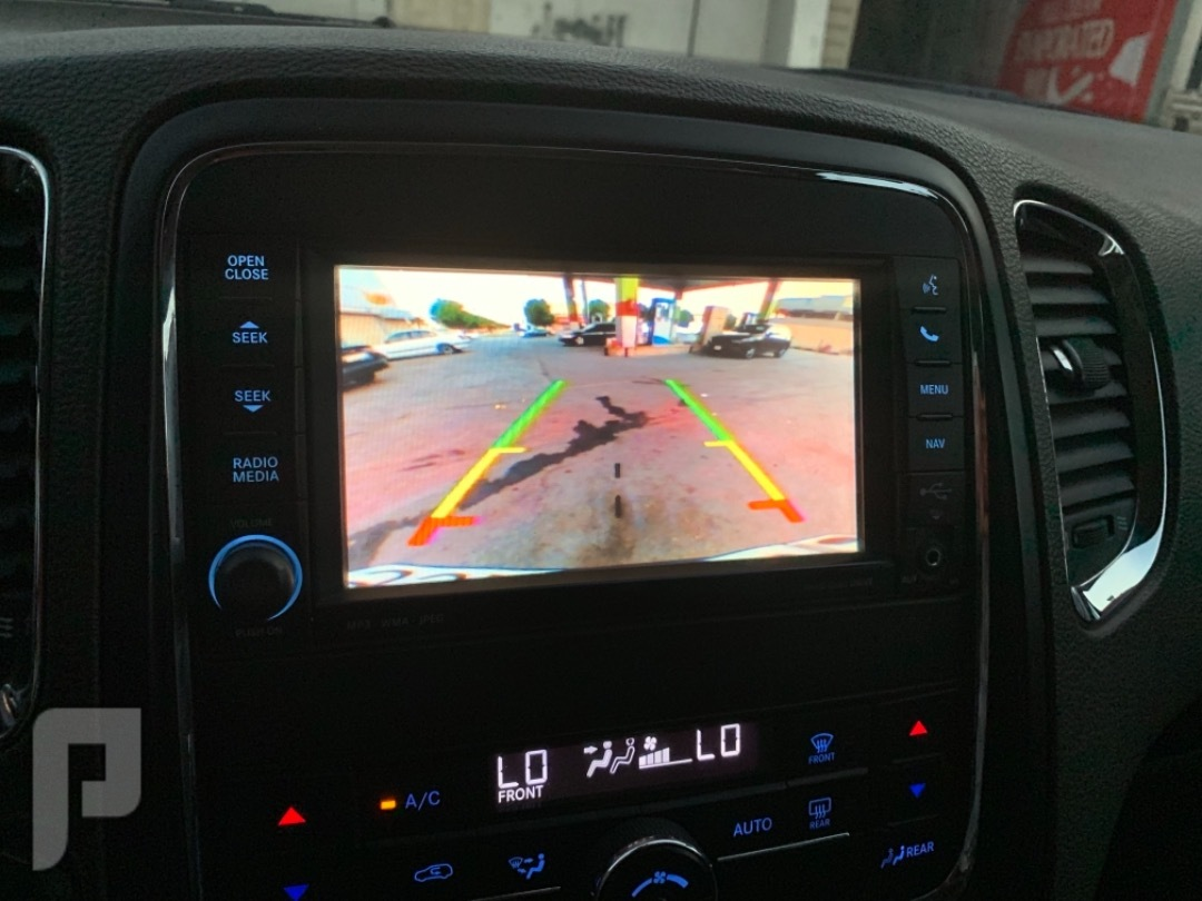 دوج دورانجو 2012 هيمي 8 سلندر كاميرا خلفية