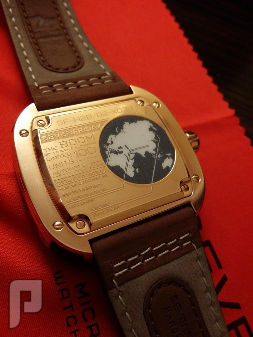 للبيع ساعة سفن فرايدي اصلية اصدار خاص sevenfriday بالعربية