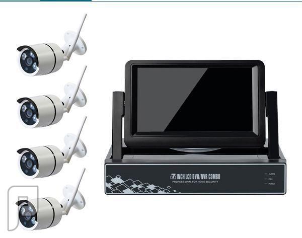 كاميرات مراقبة وانظمة امنية وشهادة انجاز وعقد صيانة