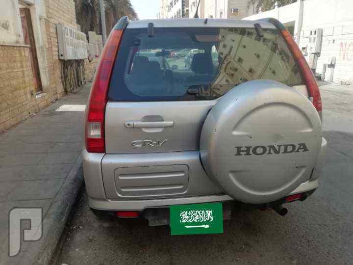 للبيع سيارة هوندا اس ار في 2004 اربعة سلندر اقتصادية في البنزين
