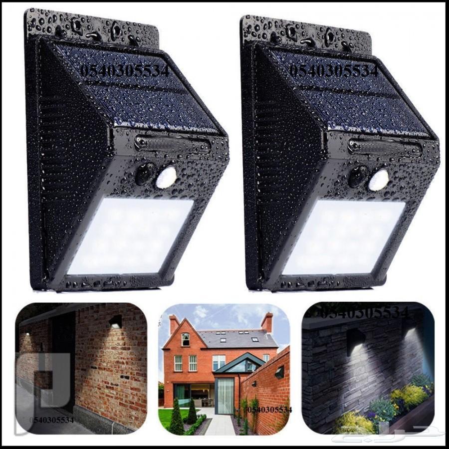 لمبات طاقة شمسية LED ليد للمنزل واستراحات