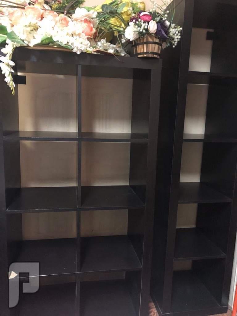 أغراض شقة للبيع 2 مكتبة إيكيا استعمال خفيف ب 250 ريال