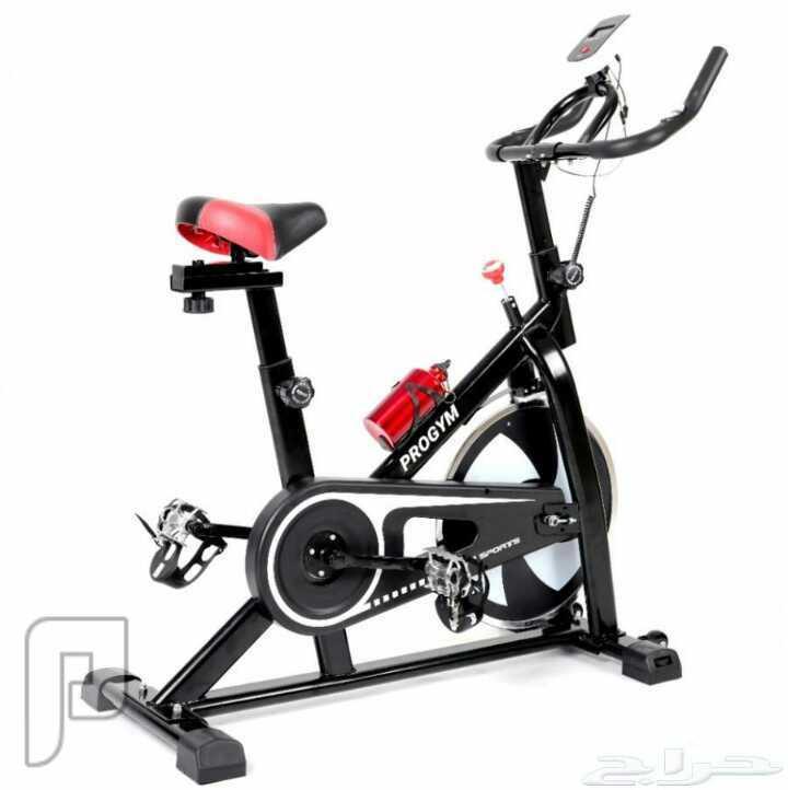 دراجة هوائية  ثابتة SPINE BIKE مع هدية جهاز مساج جديدة