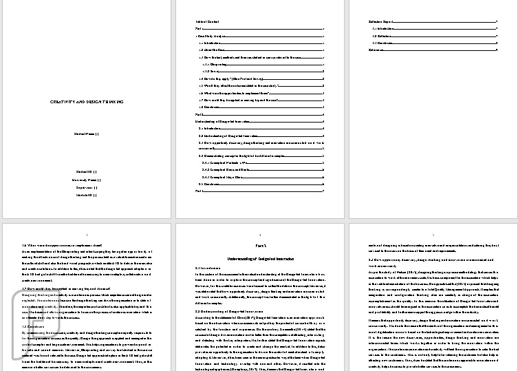 أبحاث- عمل بحث تخرج - Research خدمات طلابية