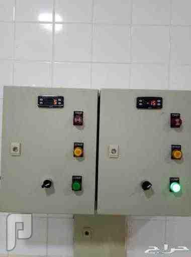 جميع غرف التبريد والساندوش بانل وجميع مستلزمات التبريد جميع انواع لوحات التحكم