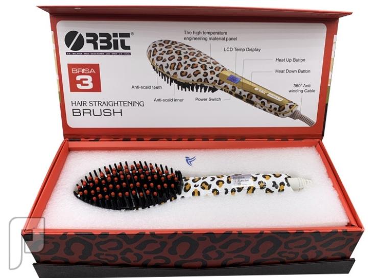 فرشاة تصفيف الشعر الكهربائية من اوربيت ضمان سنتين
